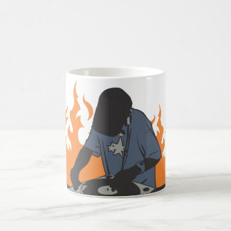 Fiery Dj Coffee Mug