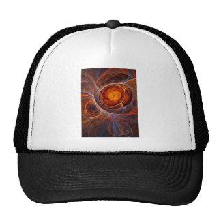 Fiery eye trucker hats