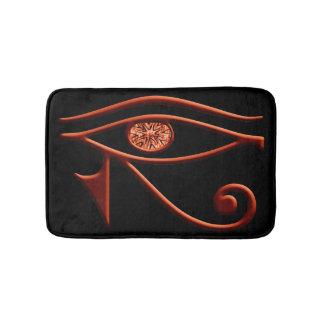 Fiery Eye Of Horus Bath Mat