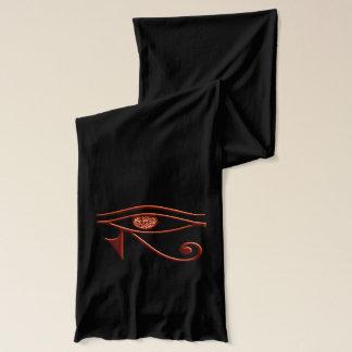 Fiery Eye Of Horus Scarf