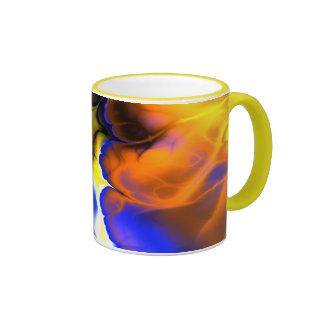 FIERY FRACTAL COFFEE MUG