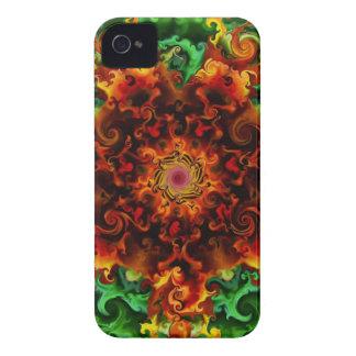 Fiery Garden iPhone 4 Case