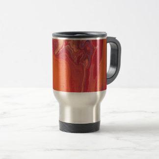 Fiery Geode Travel Mug