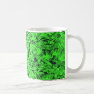 Fiery Green Coffee Mug