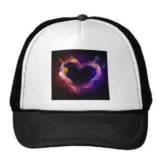 fiery love mesh hats