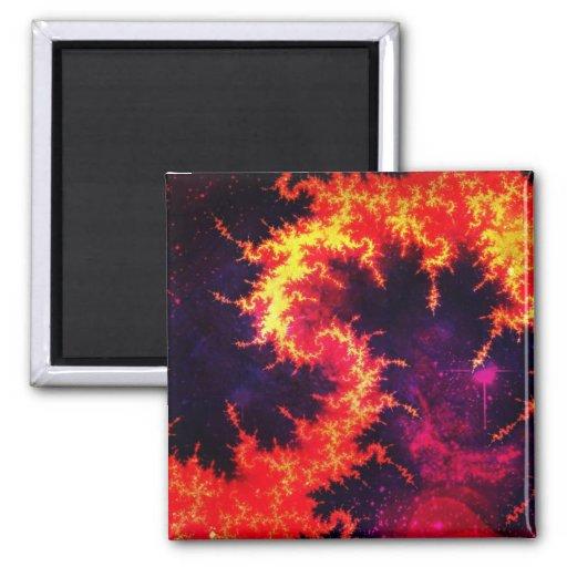 Fiery Magnets