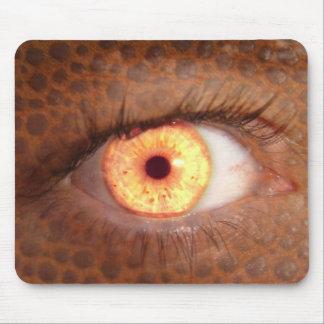 Fiery Mutant Eye Mouse Pad