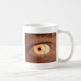 Fiery Mutant Eye Mouse Pad Coffee Mug