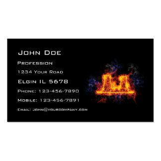 Fiery Nuclear Facility Double-Sided Standard Business Cards (Pack Of 100)
