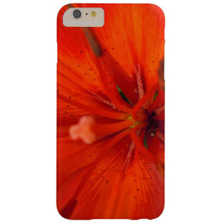 Fiery Orange & Red Lily II Barely There iPhone 6 Plus Case