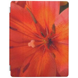 Fiery Orange & Red Lily II iPad Cover