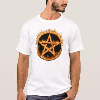Fiery Pentagram Shirt