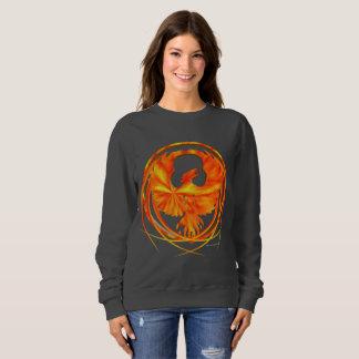 Fiery Phoenix Ladies Sweatshirt