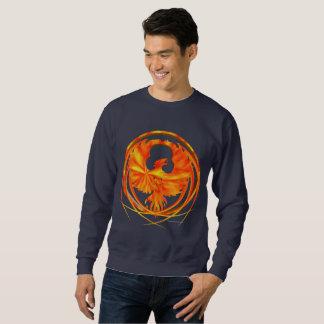 Fiery Phoenix Men's Sweatshirt
