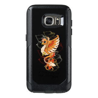 Fiery Phoenix Samsung S7 Otter Box Phone Case