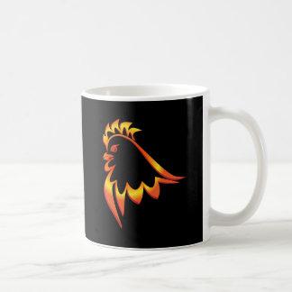 Fiery Rooster Coffee Mug