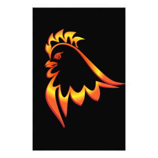 Fiery Rooster Customised Stationery