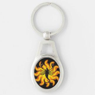 Fiery Scorpio Key Ring