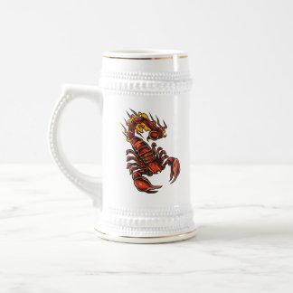 Fiery Scorpion Stein