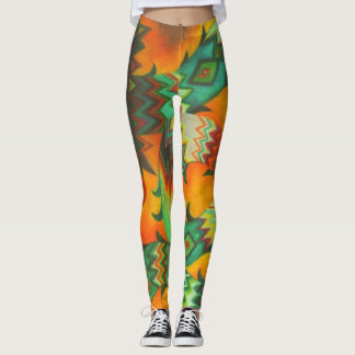Fiery Serpent Leggings