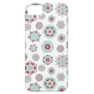 Fiery snowflakes iPhone 5 cover