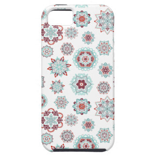 Fiery snowflakes tough iPhone 5 case