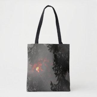 Fiery Sun... Tote Bag
