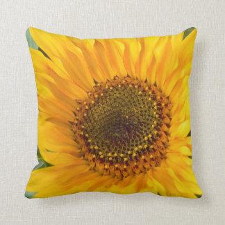 Fiery Sunflower Cushion