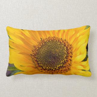 Fiery Sunflower Lumbar Cushion