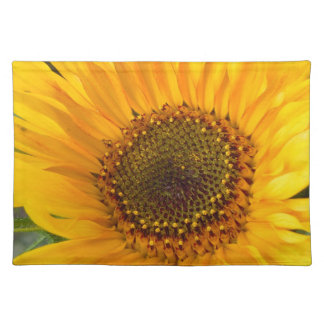 Fiery Sunflower Placemat
