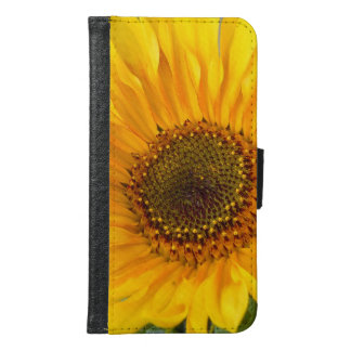 Fiery Sunflower Samsung Galaxy S6 Wallet Case