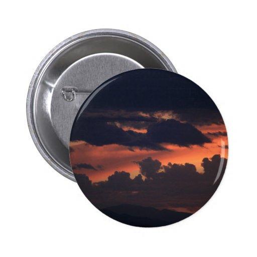 Fiery Sunset Button