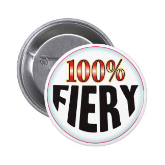 Fiery Tag Pinback Buttons