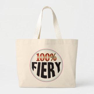 Fiery Tag Canvas Bag