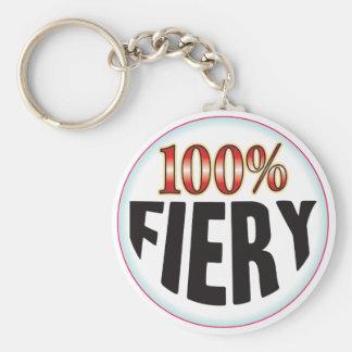 Fiery Tag Key Chains