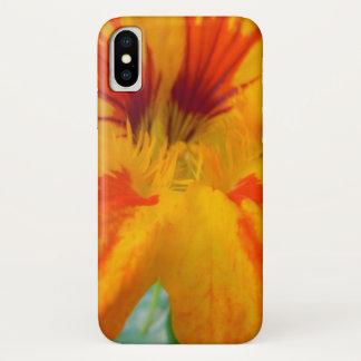Fiery Tones Nasturtium iPhone X Case