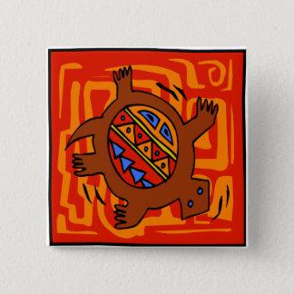Fiery-Torto 15 Cm Square Badge