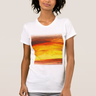 Fiery white t-shirt