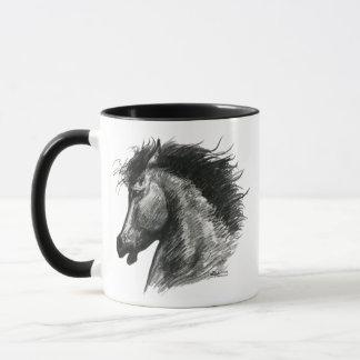 Fiery Wild Horse Mug