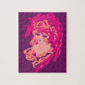 fierylady jigsaw puzzle