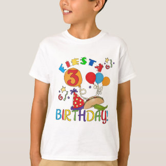 Fiesta 3rd Birthday T-shirts and Gifts