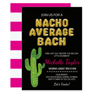 Fiesta Bachelorette Invitation