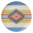 Fiesta Blue Plate