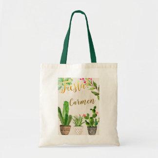 Fiesta Cactus Mexican Tote Bag