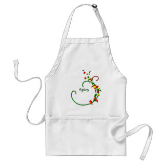 Fiesta Chili Peppers Spicy Apron