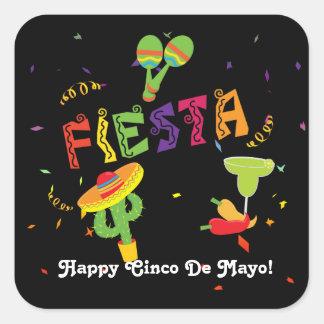 Fiesta Cinco De Mayo Celebration Custom Sticker