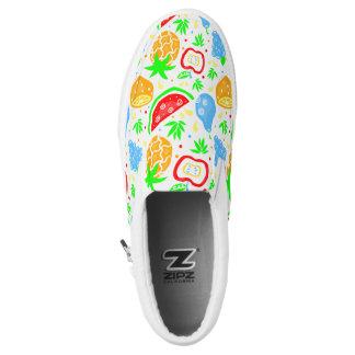 Fiesta de las Frutas ~ Slip On Sneakers