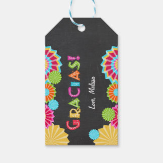 Fiesta Gift tags thank you favor Mexican