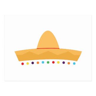 Fiesta Hat Postcard