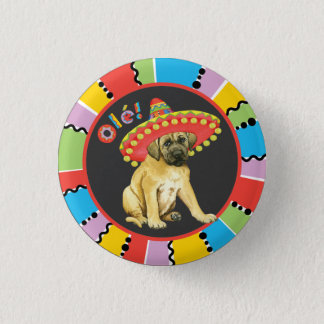 Fiesta Mastiff 3 Cm Round Badge